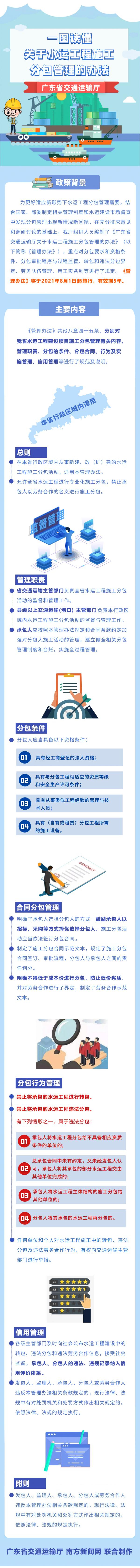 一图读懂《广东省交通运输厅关于水运工程施工分包管理的办法》3.jpg