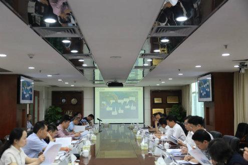 省交通运输厅召开推进深中通道项目建设工作专题会议
